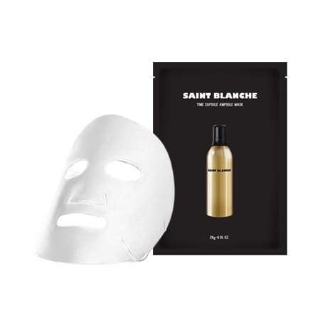 TIME CAPSULE AMPOULE MASK<br>타임캡슐앰플마스크팩 1매