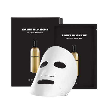 TIME CAPSULE AMPOULE MASK<br>타임캡슐앰플마스크팩 10매